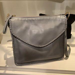 Henri Bendel Suede and Leather Bag